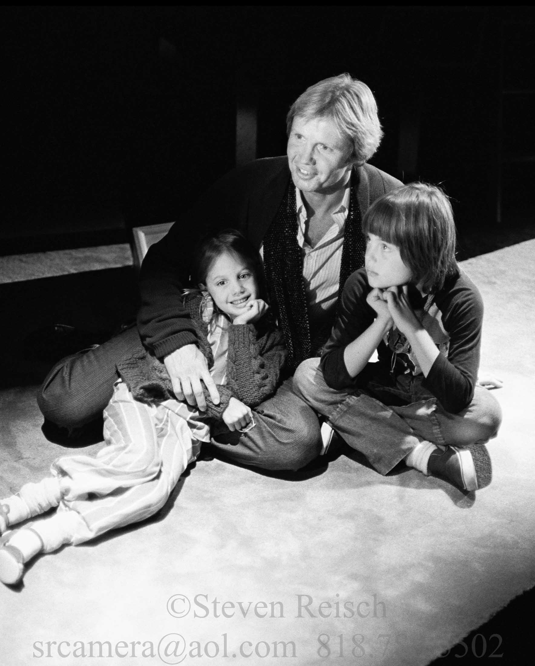 Jon,Angelina and James
